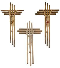 Bild Kreuz Hoffnung aus Holz