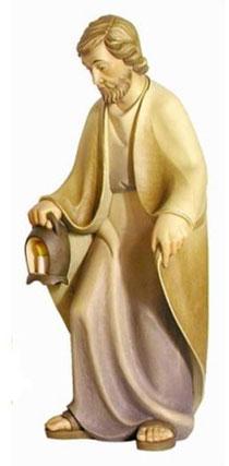 Bild Krippenfigur Mirja Josef aus Ahornholz geschnitzt