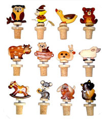 Bild Flaschenkorken verschiedene Motive Nr. 715888 aus Holz