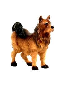 Bild Krippenfigur Joshua Spitzhund aus Ahornholz geschnitzt