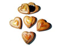 Bild Spiegel Herz Nr. 40069 aus Holz