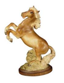 Bild Pferd Einhorn Nr. 1111 aus Ahornholz geschnitzt
