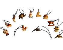 Bild Halsbänder für Kinder gemischte Motive aus Holz