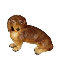 Bild Hund Dackel Nr. 1026 aus Ahornholz geschnitzt