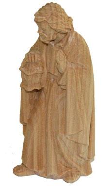 Bild Krippenfigur Josef handgeschnitzt aus Zirbenholz