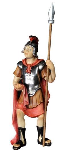Bild Passionskrippe Römer mit Lanze Nr. 13xx10 aus Ahornholz geschnitzt