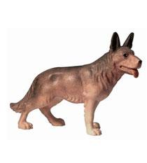 Bild Krippenfigur Mirja Schäferhund aus Ahornholz geschnitzt