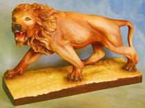 Bild Holzfigur Löwe Nr. 216 handgeschnitzt