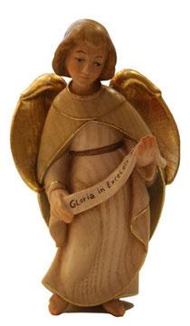 Bild Krippenfigur Thomas modern Gloriaengel aus Ahornholz geschnitzt