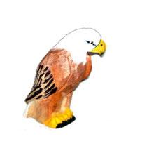 Bild Adler Nr. 649418 handgeschnitzt aus Holz