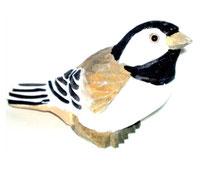 Bild Vogel Nr. 650234 handgeschnitzt aus Holz
