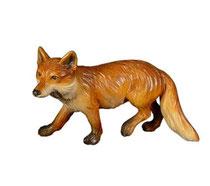 Bild Fuchs laufend Nr. 1057 aus Ahornholz geschnitzt