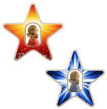 Bild Stern mit Engel aus Holz