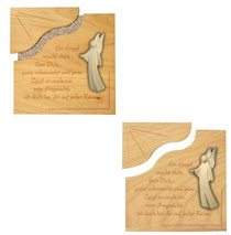 Bild Aram Engel und Tafel aus Holz