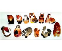 Bild Tiere gemischt Nr. 651182g handgeschnitzt aus Holz