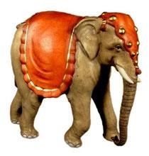 Bild Krippentier Elefant aus Ahornholz geschnitzt