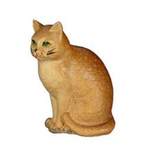 Bild Katze Nr. 1003 aus Ahornholz geschnitzt
