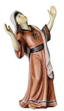 Bild Passionskrippe Maria Magdalena Nr. 13xx08 aus Ahornholz geschnitzt