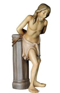 Bild Passionskrippe Gegeißelter Jesus aus Ahornholz geschnitzt