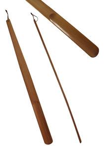 Bild Schuhlöffel, Schuhanzieher extra lang aus Holz