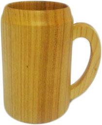 Bild Bierkrug einfach aus Holz