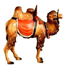 Bild Krippenfigur Thomas Kamel aus Ahornholz geschnitzt
