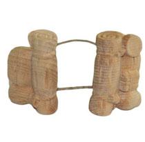Bild Krippenfigur Gepäck für Kamel handgeschnitzt aus Zirbenholz