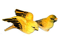 Bild Vögel Nr. 650051 handgeschnitzt aus Holz
