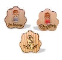 Bild Woke mit Rose oder Lunaengel aus Holz