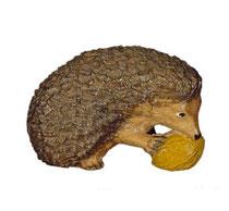 Bild Igel Nr. 1080 aus Ahornholz geschnitzt
