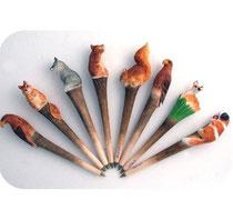 Bild Kugelschreiber Tiere gemischt