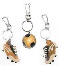 Bild Schlüsselanhänger Fußball Nr. PHSAF8612 aus Holz