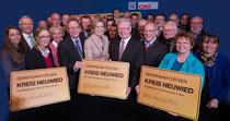 Honorarfreies Bild (Foto: photoklaas.de)     Die Kandidatinnen und Kandidaten der CDU beim Wahlkampfauftakt mit der Landesvorsitzenden Julia Klöckner, MdL.