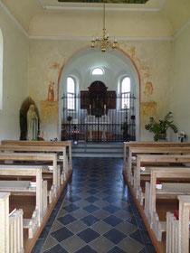 St. Martinskapelle von innen