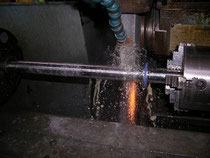 grinding shaft