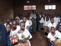 Klassenraum der neuen Schule