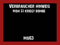 Mo63 - Moh51 kriegt Bombe