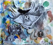 Dipinto di Mimmo Emanuele