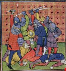 Brit. Lib. Royal 20 C VII - Chroniques de France ou de St Denis