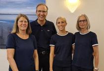 v.l.:  Frau Derkum, Frau Ricken, Frau Schulz