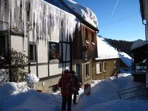 Winterwanderung um Falkenstein