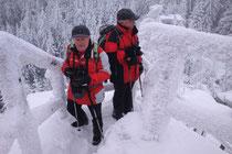 winterlicher Kösseine Gipfel