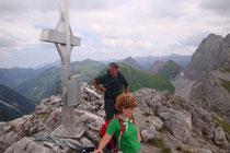 Falscher Kogel 2388m in den Lechtaler Alpen