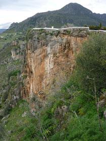 Klettergebiet Casares, Andalusien