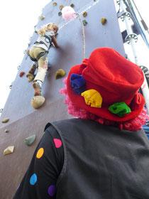 Kletterturm zum Kinderfest Freizeitanlage Syratal