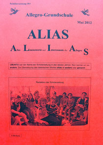 Deckblatt der ersten Ausgabe