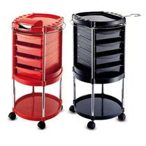 Elegancia rot mit Folienspender und schwarz