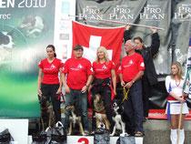 EO in Tschechien 2010, 3.Rang mit Team