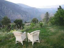 Luftholen in Delphi
