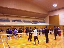 NECロケッツバレーボール教室